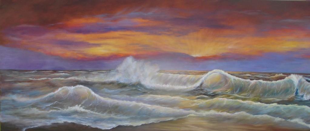 Zeegezicht Pacific
