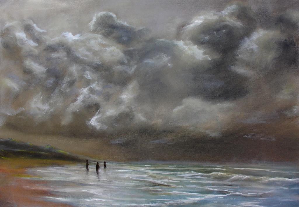 Zeegezicht Zandvoort
