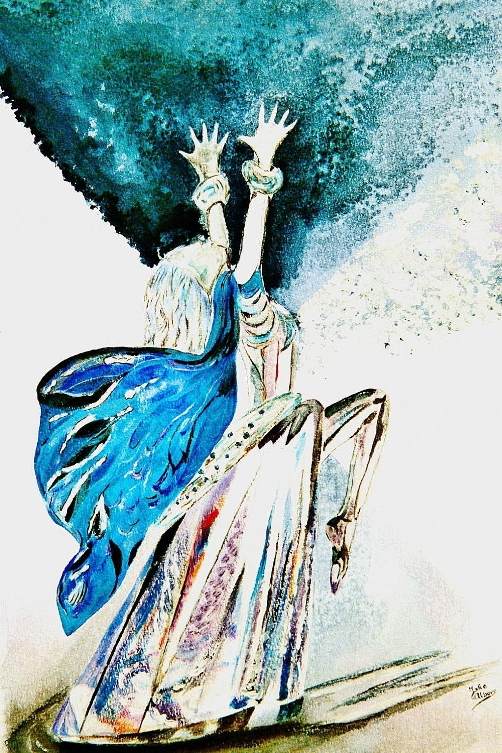 Crystal dance