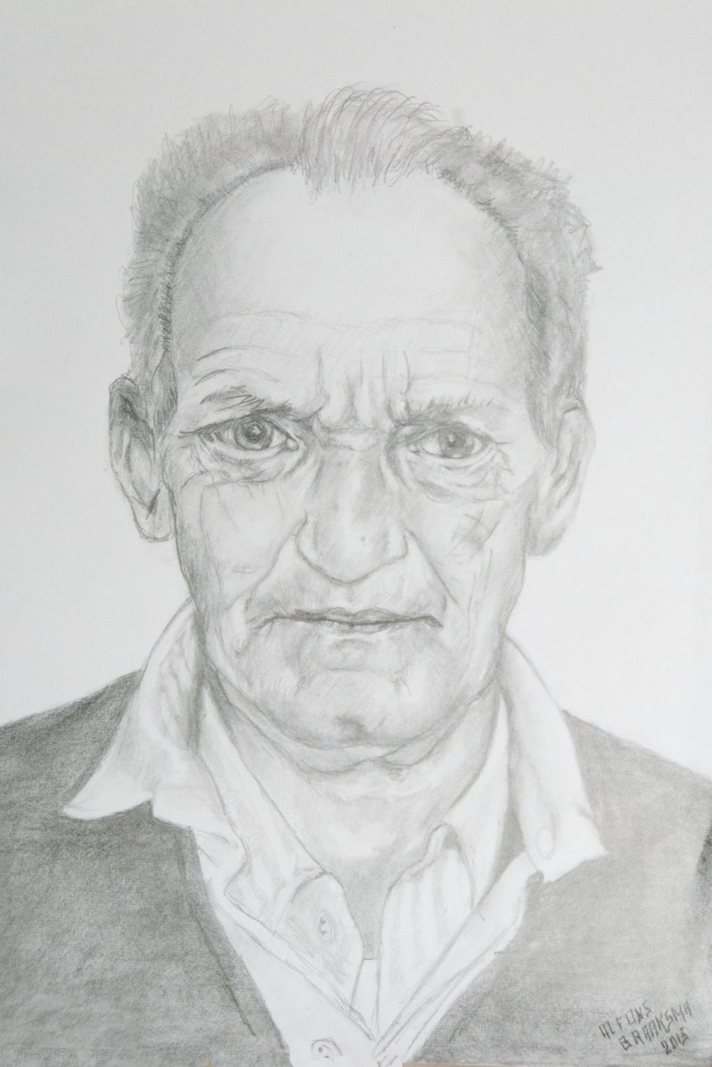 Portret van een Groninger
