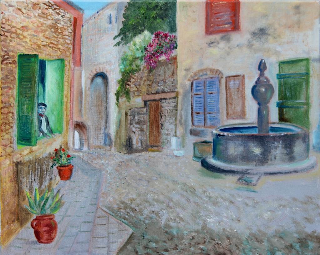Frans dorpspleintje
