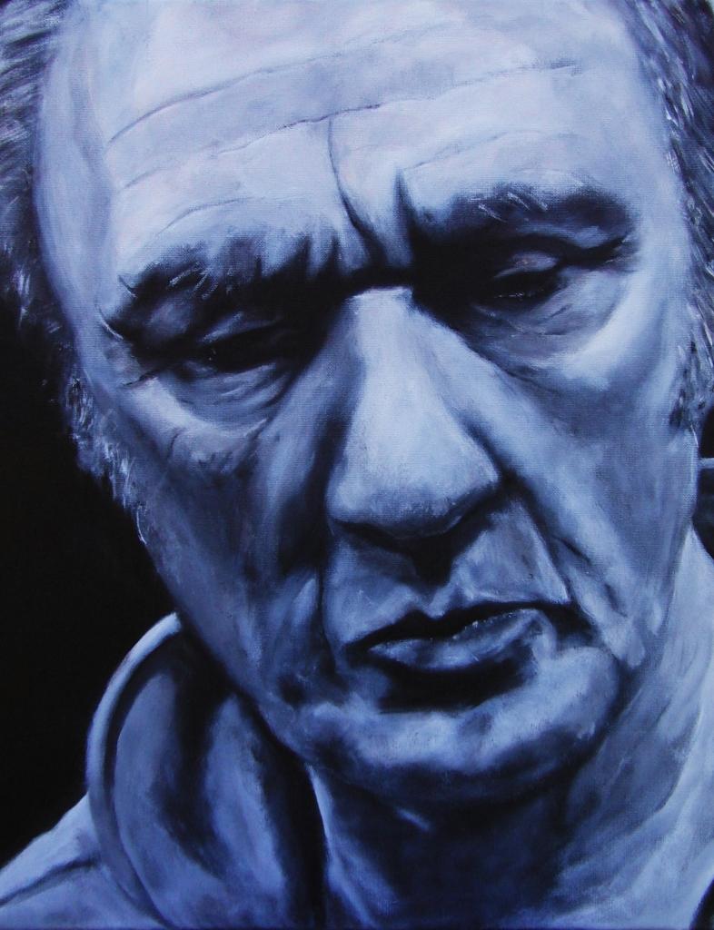 Herman, acryl op doek, 60x50cm