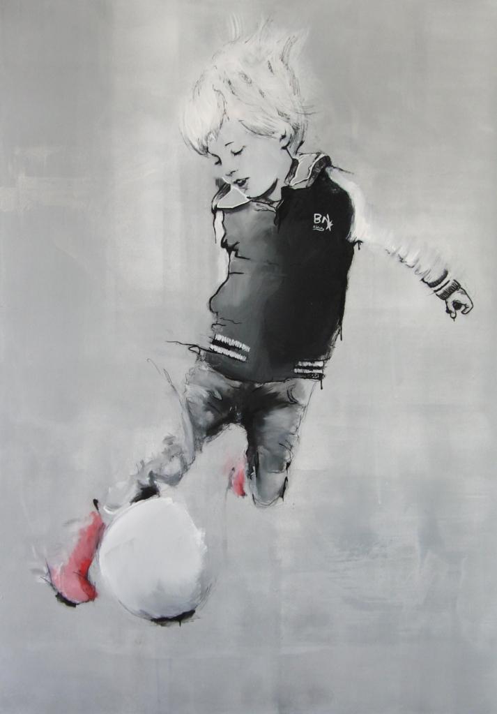 Acryl op canvas 100x70cm