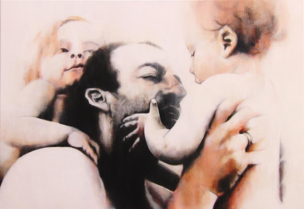 Acryl op canvas 70x100cm
